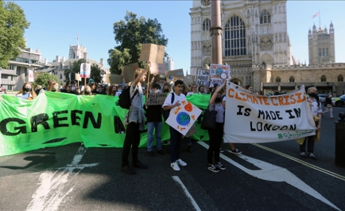 Climate activists breach court order, stage protests