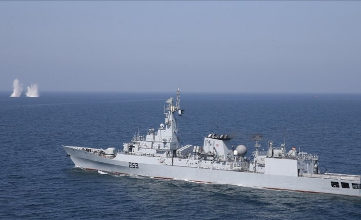 Pakistan, Qatar hold joint naval drill