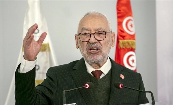 Ghannouchi says Tunisia parliament in session, rejects 'coup'