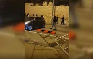 Palestinian hero scared dozens of Israelis